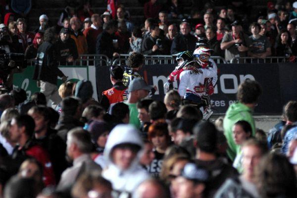 Světový pohár 4X, Schladming 2009: Graves příjímá gratulace