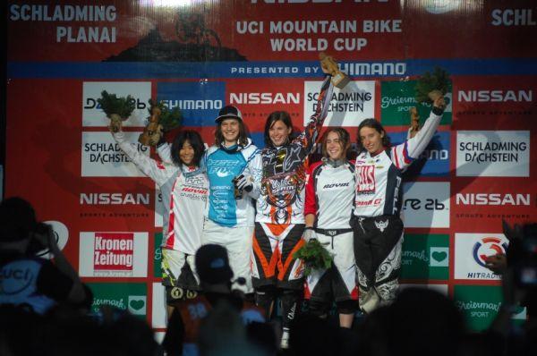 Světový pohár 4X, Schladming 2009: Romana Labounková končí ve Schladmingu pátá