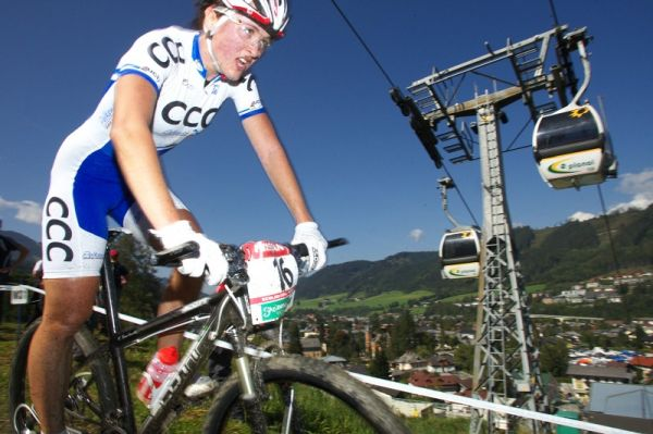 Nissan UCI MTB World Cup XCO #8, Schladming 19.9. 2009 - Aleksandra Dawidowicz