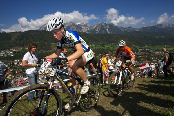 Nissan UCI MTB World Cup XCO #8, Schladming 19.9. 2009 - Lucka Vesel�