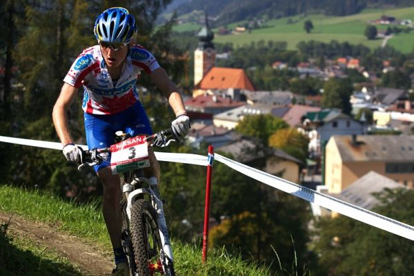 Nissan UCI MTB World Cup XCO #8, Schladming 19.9. 2009 - Catherine Pendrel