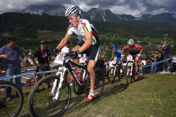 Nissan UCI MTB World Cup XCO #8, Schladming 19.9. 2009 - Ji�� Friedl