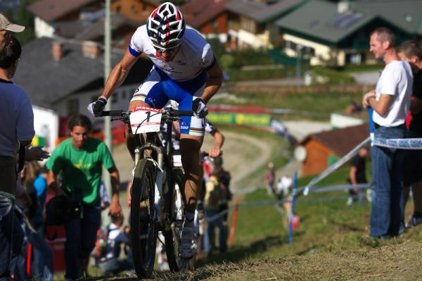 Nissan UCI MTB World Cup XCO #8, Schladming 19.9. 2009 - Julien Absalon