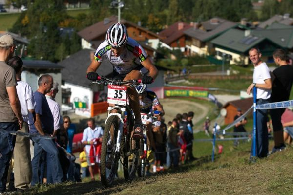 Nissan UCI MTB World Cup XCO #8, Schladming 19.9. 2009 - Christoph Soukup