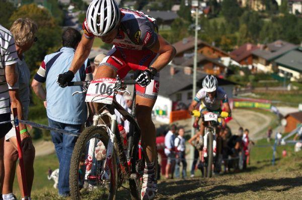 Nissan UCI MTB World Cup XCO #8, Schladming 19.9. 2009 - Kristián Hynek