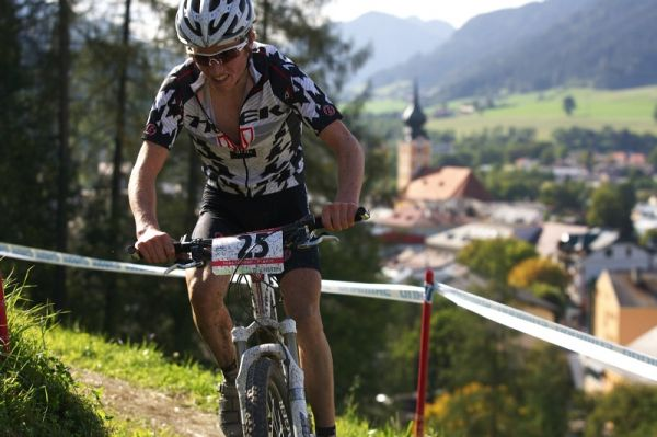 Nissan UCI MTB World Cup XCO #8, Schladming 19.9. 2009 - Matthias Fl�ckiger