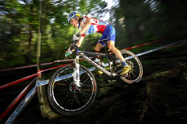 Nissan UCI sv�tov� poh�r MTB #8 - Schladming 2009: Catherine Pendrel