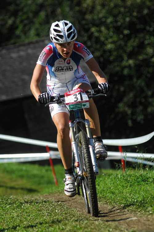 Nissan UCI světový pohár MTB #8 - Schladming 2009: Janka Števková