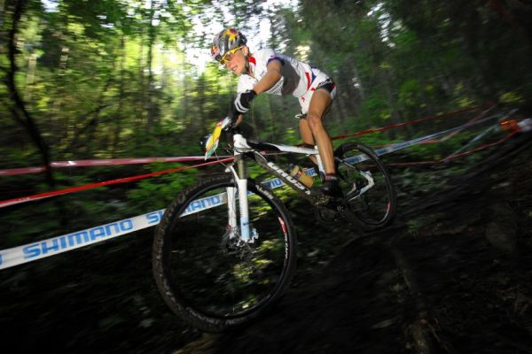 Nissan UCI sv�tov� poh�r MTB #8 - Schladming 2009: Lisi Osl