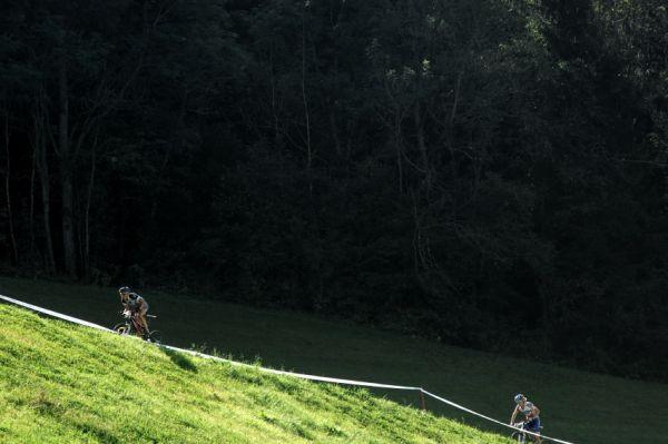 Nissan UCI světový pohár MTB #8 - Schladming 2009: atak Norky Lene Byberg na druhé místo