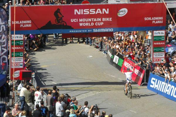 Nissan UCI světový pohár MTB #8 - Schladming 2009: Lisi Osl vítězí