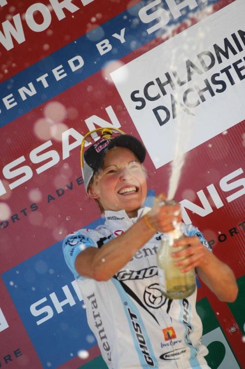Nissan UCI světový pohár MTB #8 - Schladming 2009: Lisi Osl