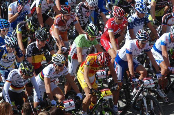 Nissan UCI světový pohár MTB #8 - Schladming 2009: start mužů