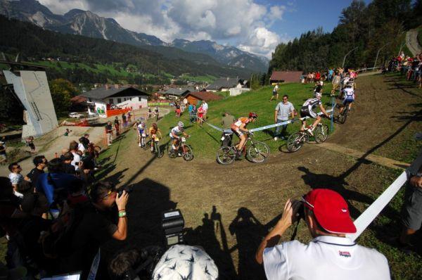 Nissan UCI světový pohár MTB #8 - Schladming 2009: náročná stoupání