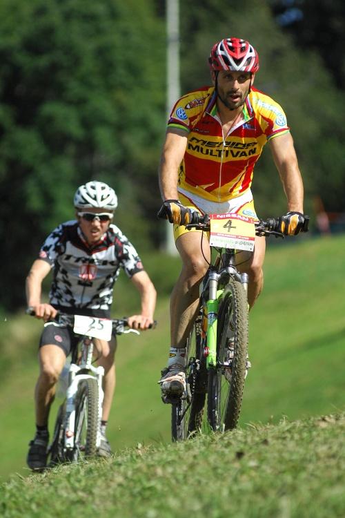 Nissan UCI světový pohár MTB #8 - Schladming 2009: Hermida a Fluckiger