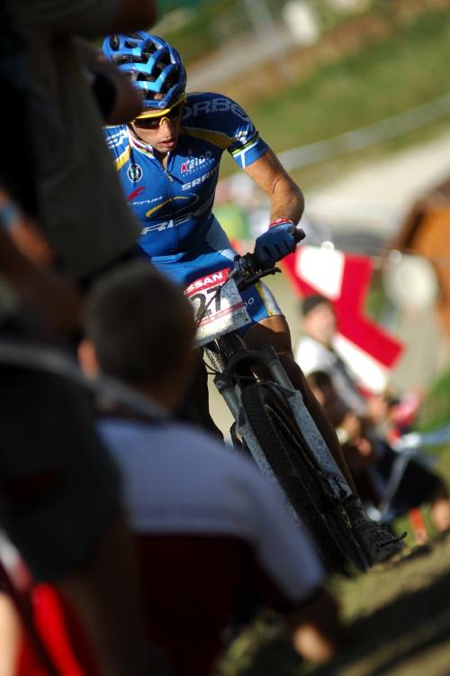 Nissan UCI světový pohár MTB #8 - Schladming 2009: překvapivě druhý Ruban Ruzafa