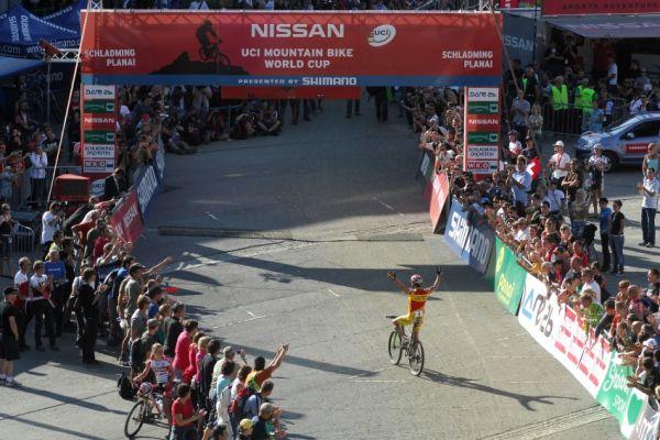 Nissan UCI světový pohár MTB #8 - Schladming 2009: Hermida vítězí