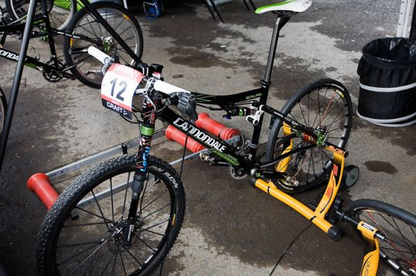 SP XCO Champ�ry 2009 �eny - tov�rn� Cannondale Scalpel