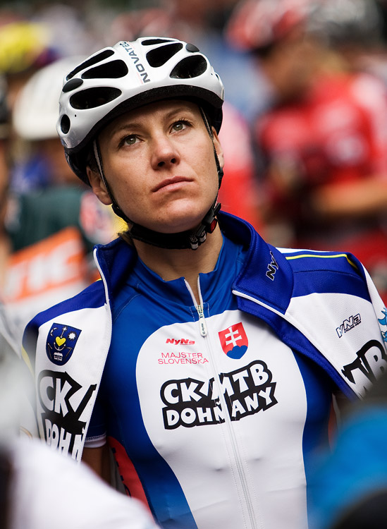 SP XCO Champéry 2009 ženy - slovenská hvězda Janka Števková