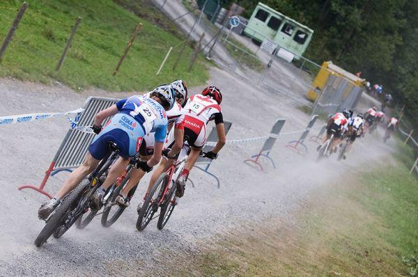 SP XCO Champéry 2009 junioři - Jan Svorada v prvním kole