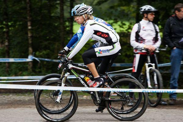 SP XCO Champéry 2009 - Ondra Cink spolu s Matějem Nepustilem před startem
