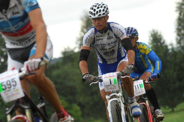 Mistrovství ČR v MTB maratonu - Specialized Rallye Sudety '09: Ivan Rybařík obhajoval loňské vítězství