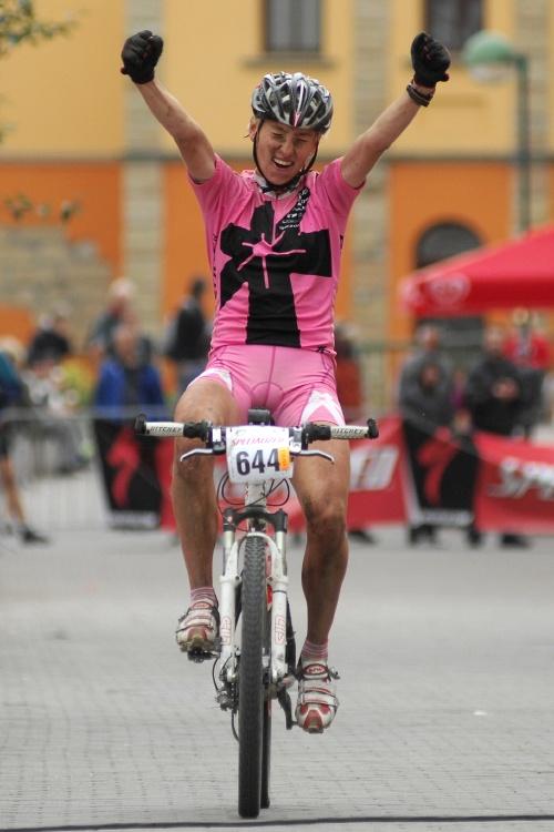 Mistrovství ČR v MTB maratonu - Specialized Rallye Sudety '09: Pavlína Šulcová vítězí v závodě žen