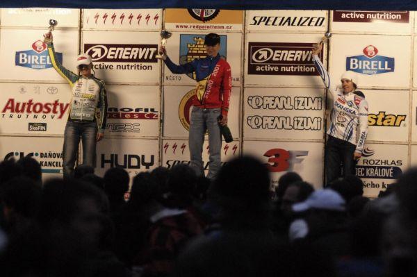 Mistrovstv� �R v MTB maratonu - Specialized Rallye Sudety '09: kone�n� po�ad� �P XCM 1. Radov�, 2. Krn��ov�, 3. �u��kov�