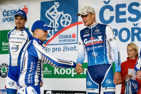 KPŽ Priessnitzova 60 2009 - Ivan Rybařík a Venca Ježek po boji...