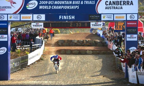 """Mistrovství světa MTB DH 2009, Canberra /AUS/ - Gee Atherton tentokrát """"až"""" šestý"""