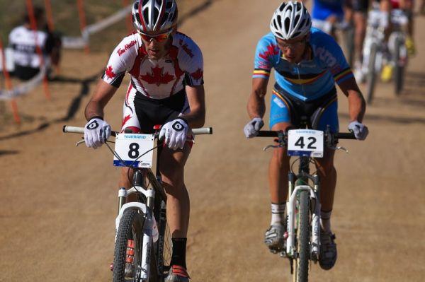 Mistrovství světa MTB XCO 2009 - Canberra /AUS/ - Geoff Kabush a Sven Nijs