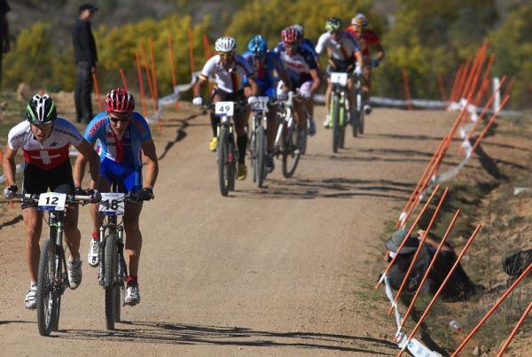 Mistrovství světa MTB XCO 2009 - Canberra /AUS/ - Martin Gujan a Jaroslav Kulhavý