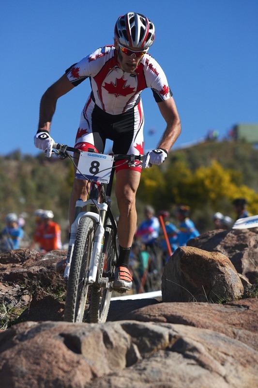 Mistrovství světa MTB XCO 2009 - Canberra /AUS/ - Geoff Kabush