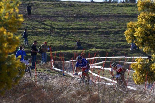 Mistrovství světa MTB XCO 2009 - Canberra /AUS/ - Julien Absalon a Nino Schurter