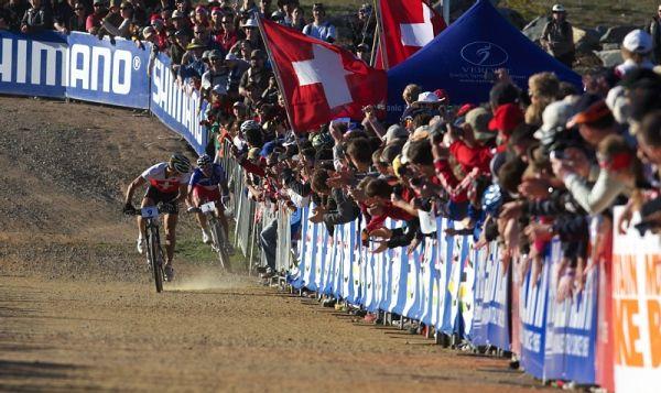 Mistrovství světa MTB XCO 2009 - Canberra /AUS/ - 100metrů do cíle! Schurter nebo Absalon?