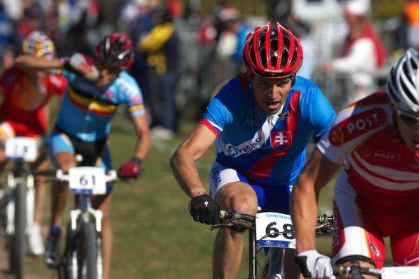 Mistrovství světa MTB XCO 2009 - Canberra /AUS/ - Slovák Michal Lami