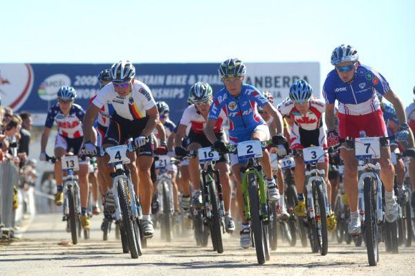 Mistrovství světa MTB XC 2009, Canberra: start žen
