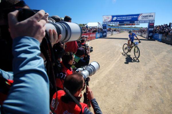 Mistrovství světa MTB XC 2009, Canberra: Irina Kalnetieva vítězí