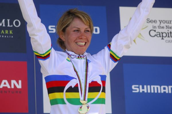 Mistrovství světa MTB XC 2009, Canberra: nová mistryně světa
