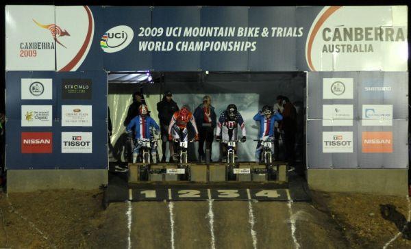Mistrovství světa 4X 2009, Canberra (AUS): osmifinálová jízda se Slavíkem a Prokopem