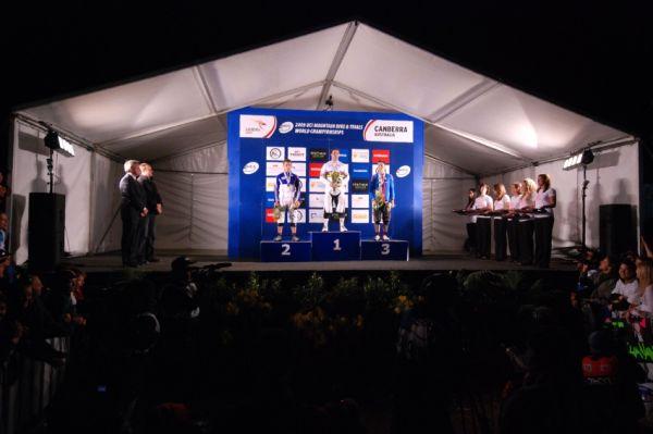 Mistrovství světa 4X 2009, Canberra (AUS): 1. Graves, 2. Saladini, 3. Říha