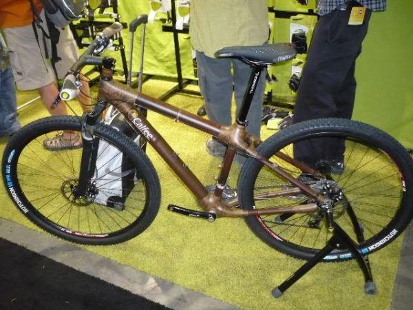 Interbike 2009, Las Vegas /USA/ - bambus v Americe frčí, tady je další model, foto: Pert Kuba/Pedalsport.cz