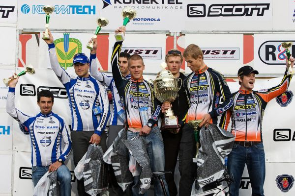 Scott Žacléřská 70 MTB 2009 - nejlepší muži 70 km