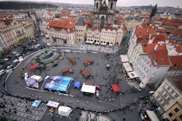 Staroměstské kritérium 2009, Praha: část trati na Staroměstském náměstí