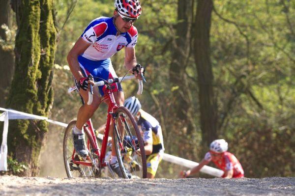 Cyklokros - Toi Toi Cup 2. závod, Stříbro 26.9. 2009 - Milan Barenyi