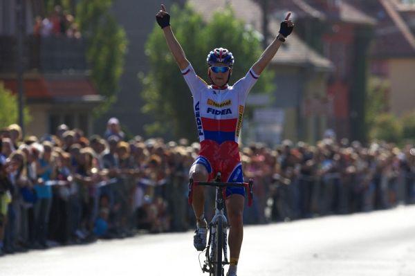 Cyklokros - Toi Toi Cup 2. závod, Stříbro 26.9. 2009 - Zdeněk Štybar vítězí