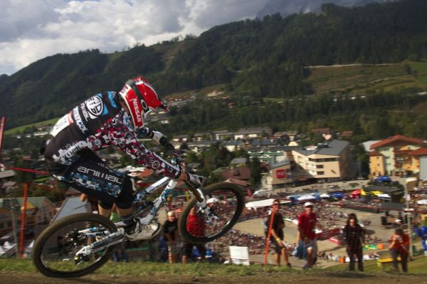 Nissan UCI MTB World Cup DH #8, Schladming 20.9. 2009 - Dan Atherton