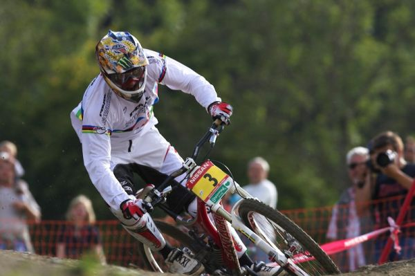 Nissan UCI MTB World Cup DH #8, Schladming 20.9. 2009 - Steve Peat