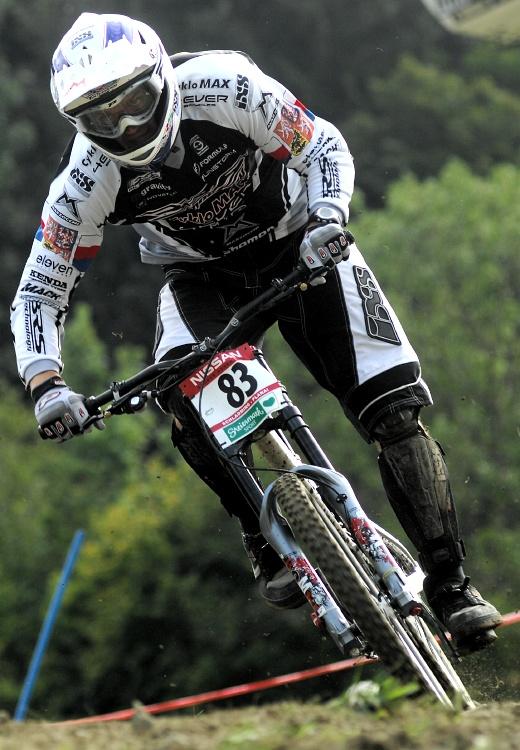 Světový pohár MTB Downhill - Schladming 2009: Adam Vágner