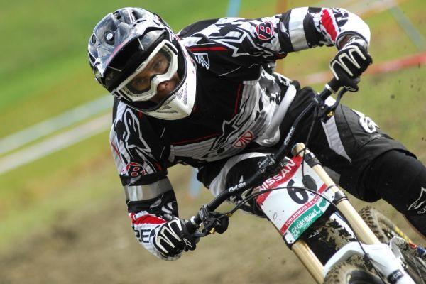Světový pohár MTB Downhill - Schladming 2009: Justin Leov